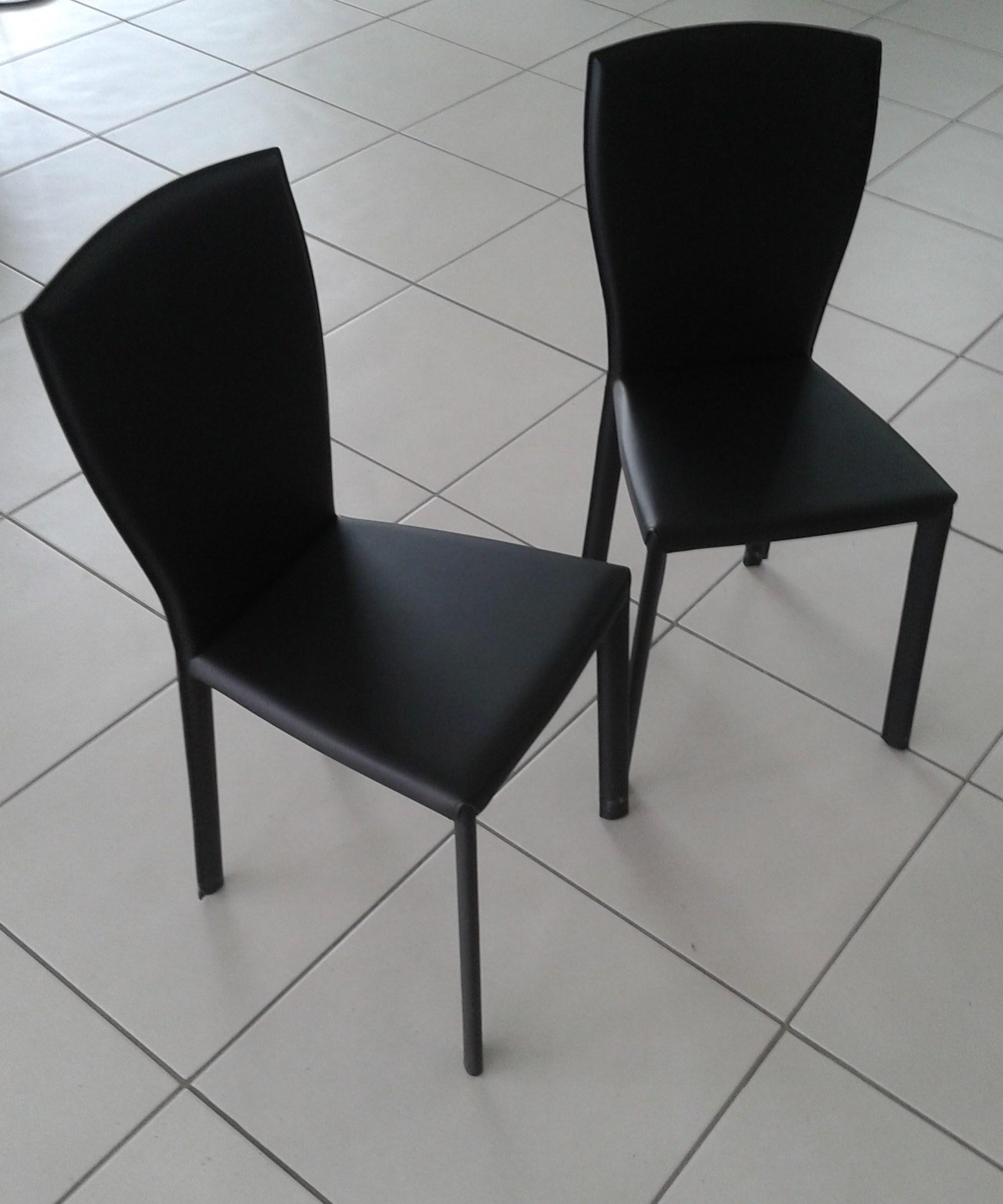 4 sedie ozzio sedie cuoio minuetto scontato del 57 for Sedie cuoio prezzi