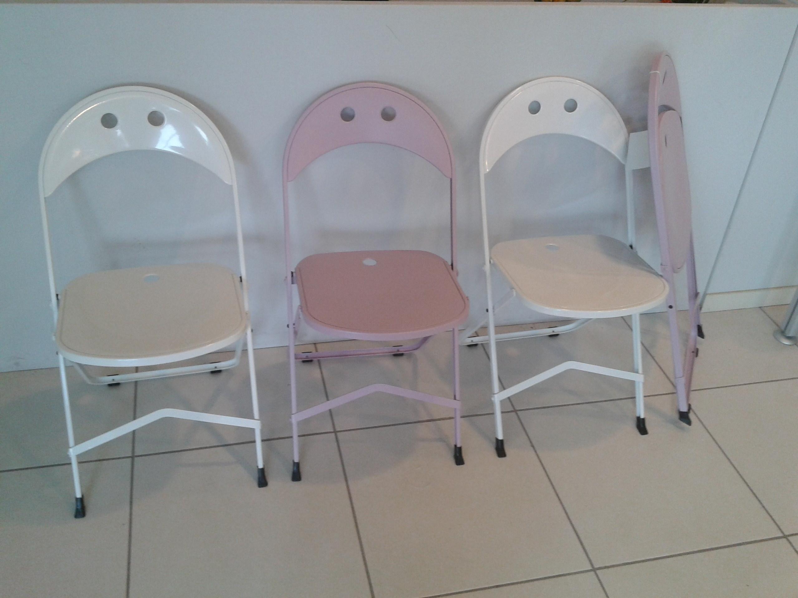 2 sedie pieghevoli bonaldo scontato del 50 sedie a for Sedie pieghevoli prezzi