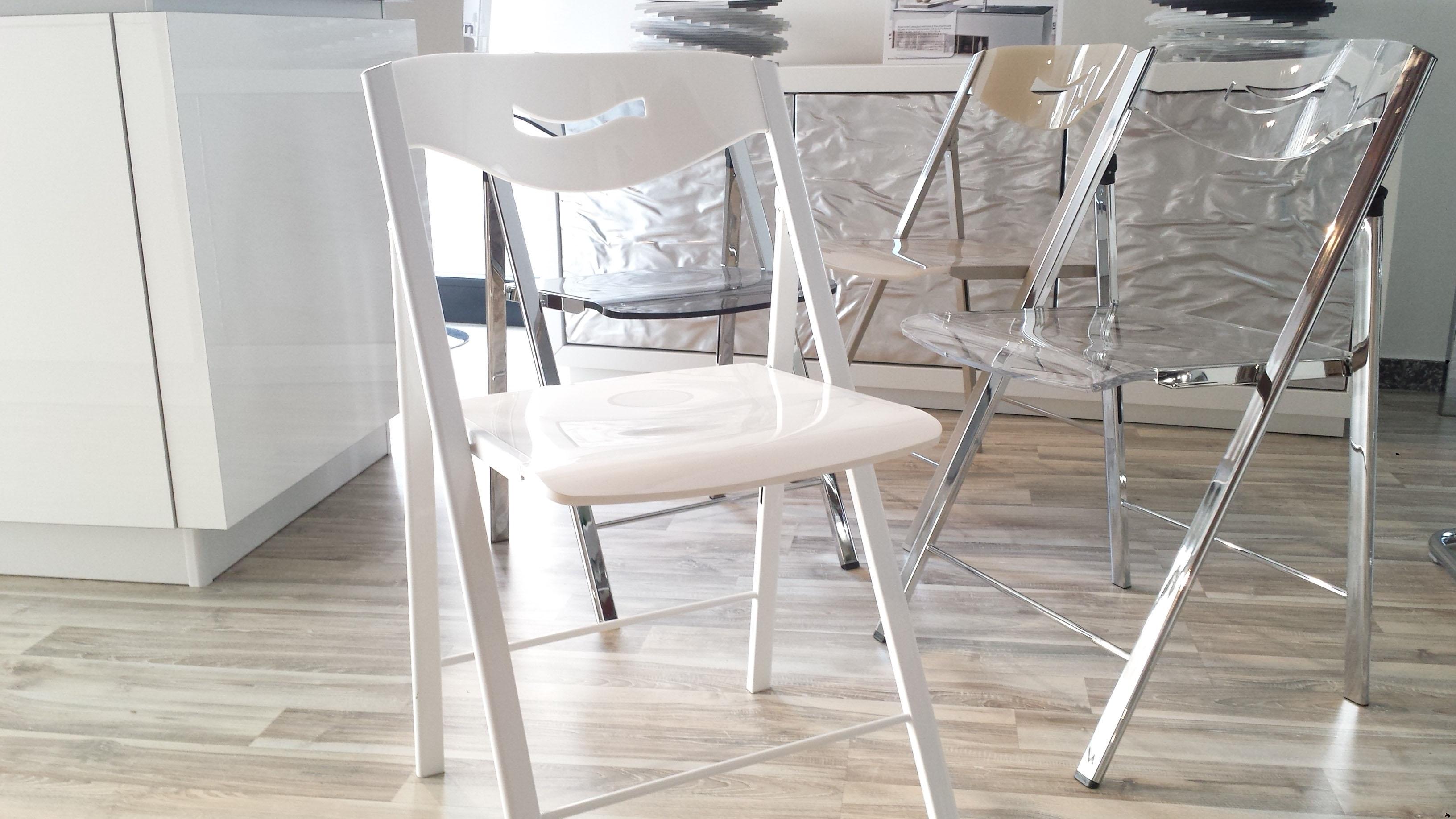 4 sedie pieghevoli ripiego 19281 sedie a prezzi scontati - Sedia pieghevole trasparente ...