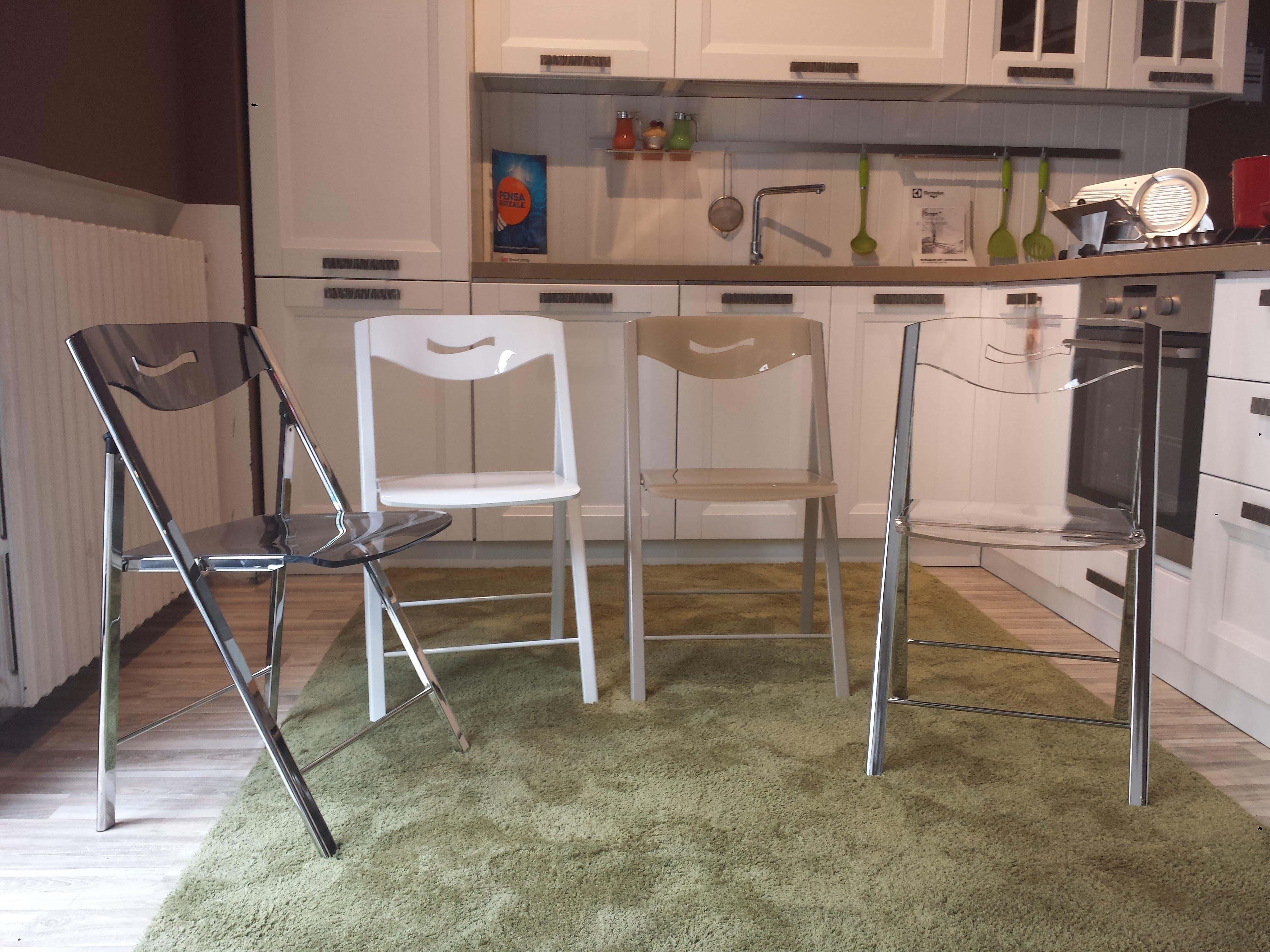 4 sedie pieghevoli ripiego 20851 sedie a prezzi scontati - Sedia pieghevole trasparente ...