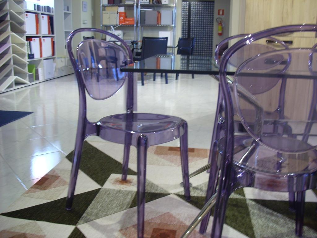 6 sedie parisienne calligaris sconto 30 sedie a prezzi for Sedie outlet