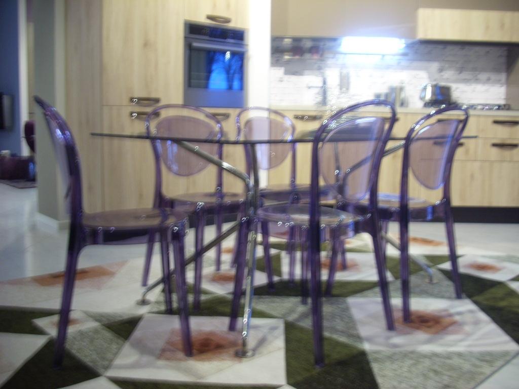 6 sedie parisienne calligaris sconto 30 sedie a prezzi for Sedia parisienne calligaris