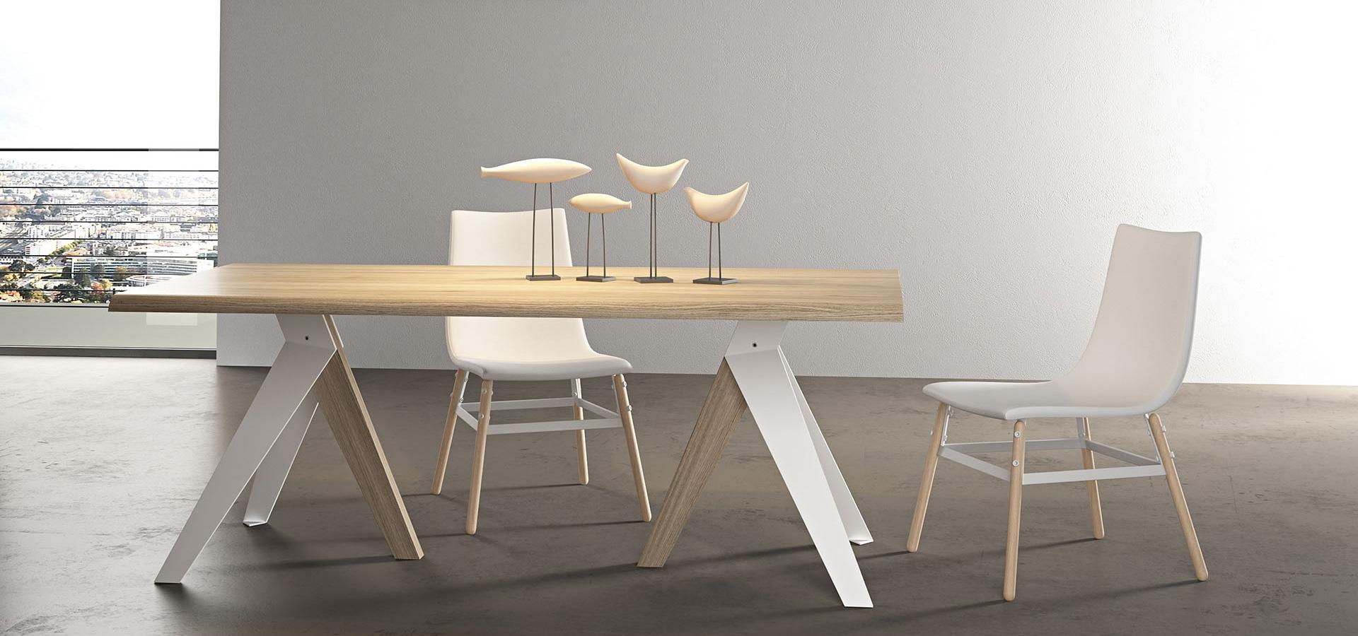 Sedia arredo3 coupe 39 om legno design schienale medio - Sedie in legno design ...