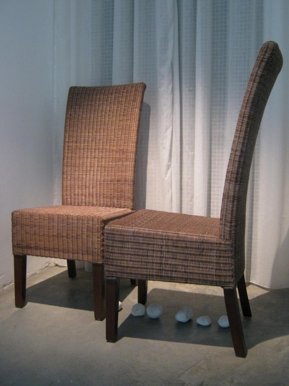 Sedia Becara Becara outlet , set 4 sedie midollino - Sedie a prezzi scontati