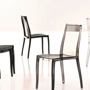 Bonaldo Pangea sedia impilabile policarbonato