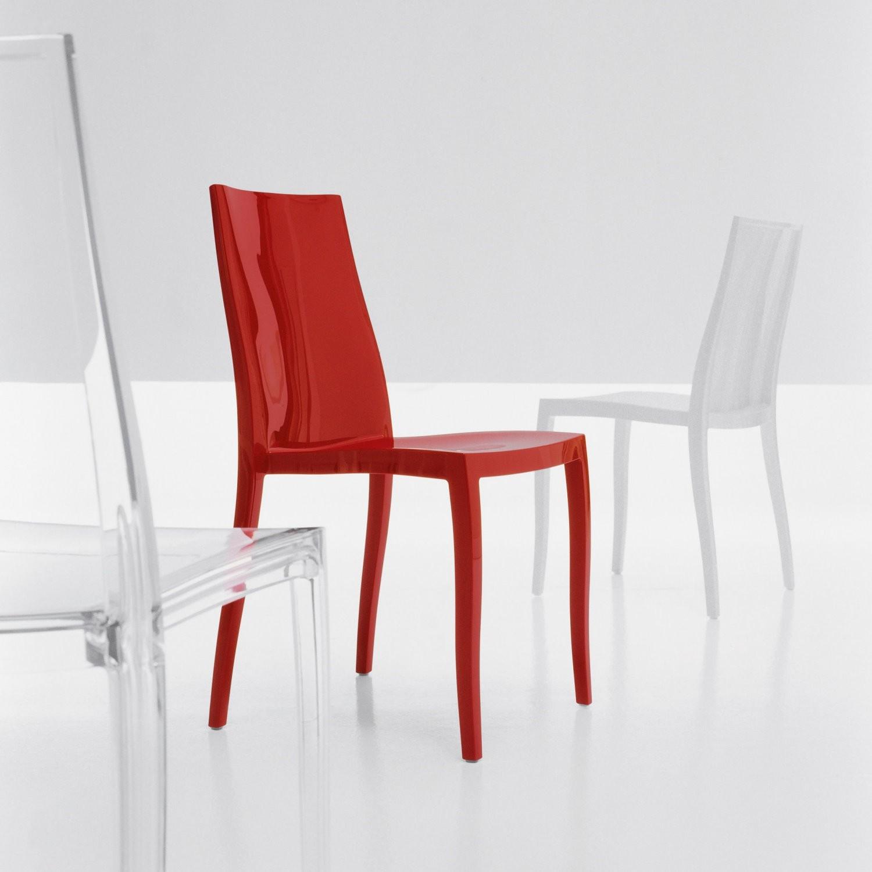 Bonaldo sedia pangea plastica design senza braccioli for Sedie design outlet