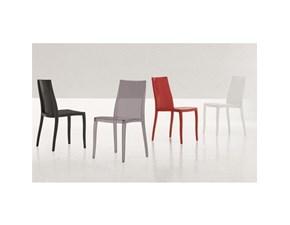 sedia impilabile bonaldo plastica senza braccioli