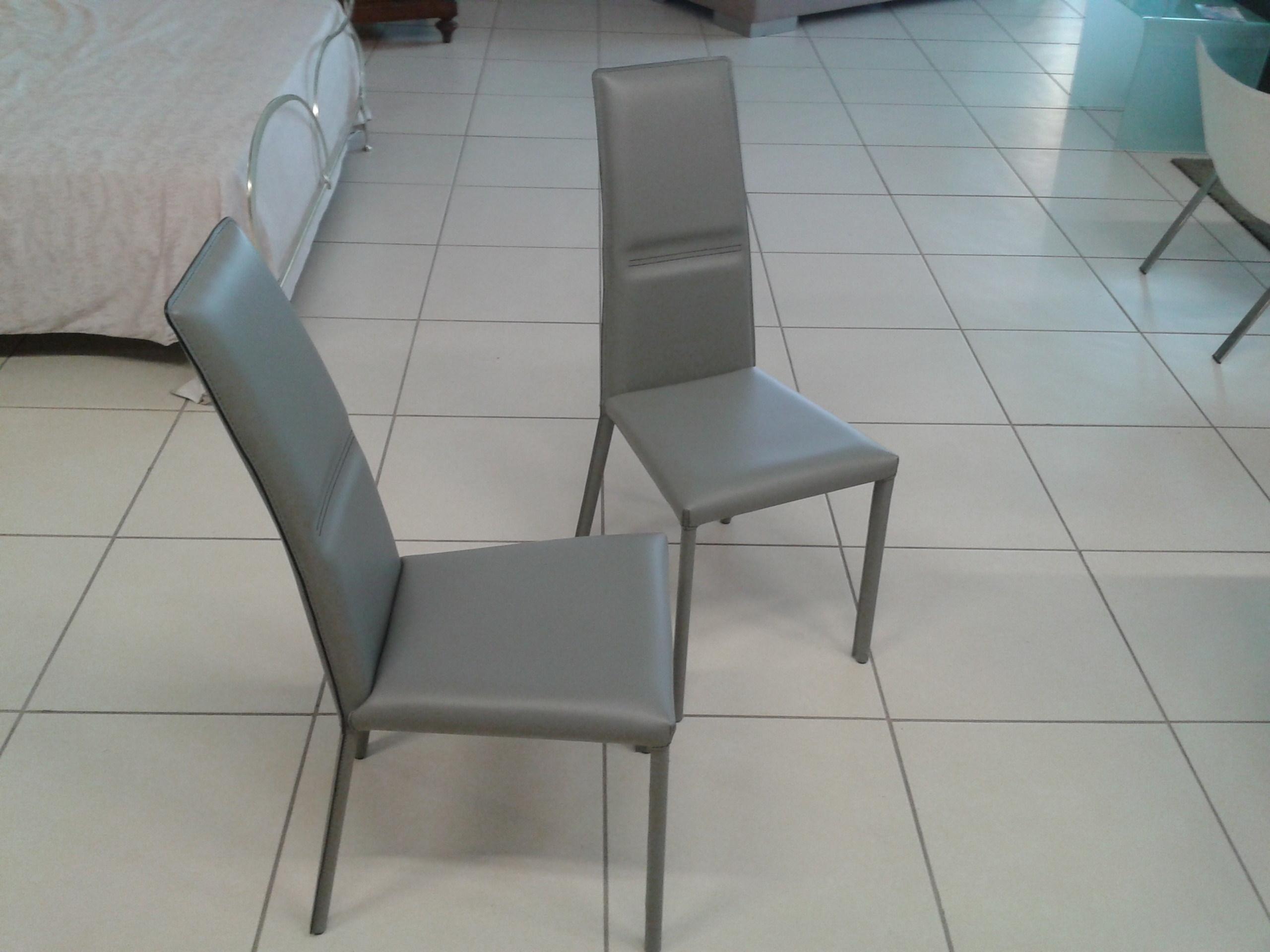 Sedie cuoio sedia yuta br julia sedia in ecopelle cuoio o pelle