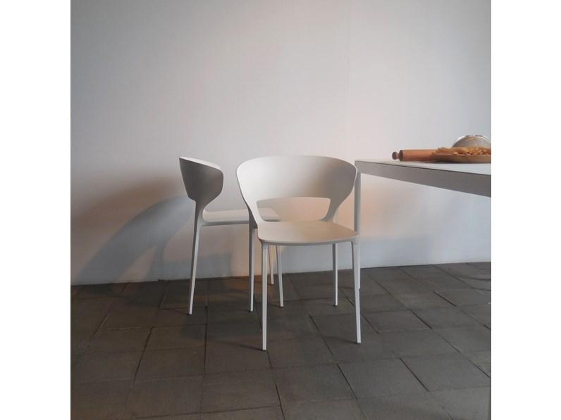Sedie Con Braccioli Design.Sedia Desalto Set 4 Sedie Con Braccioli Koki 707 Design