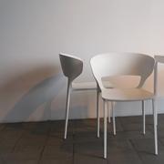 Sedia Desalto Set 4 sedie con braccioli koki 707  Design