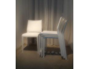 Sedia Desalto Set 4 sedie riga impilabili , desalto outlet