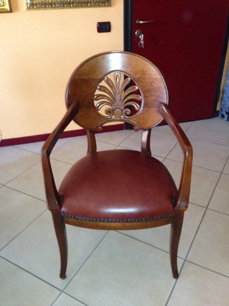 Due poltroncine e quattro sedie sedie a prezzi scontati for Poltroncine