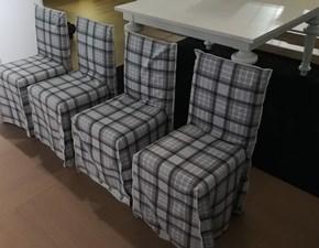 Gervasoni Set 4 sedie ghost scontato del -30 %