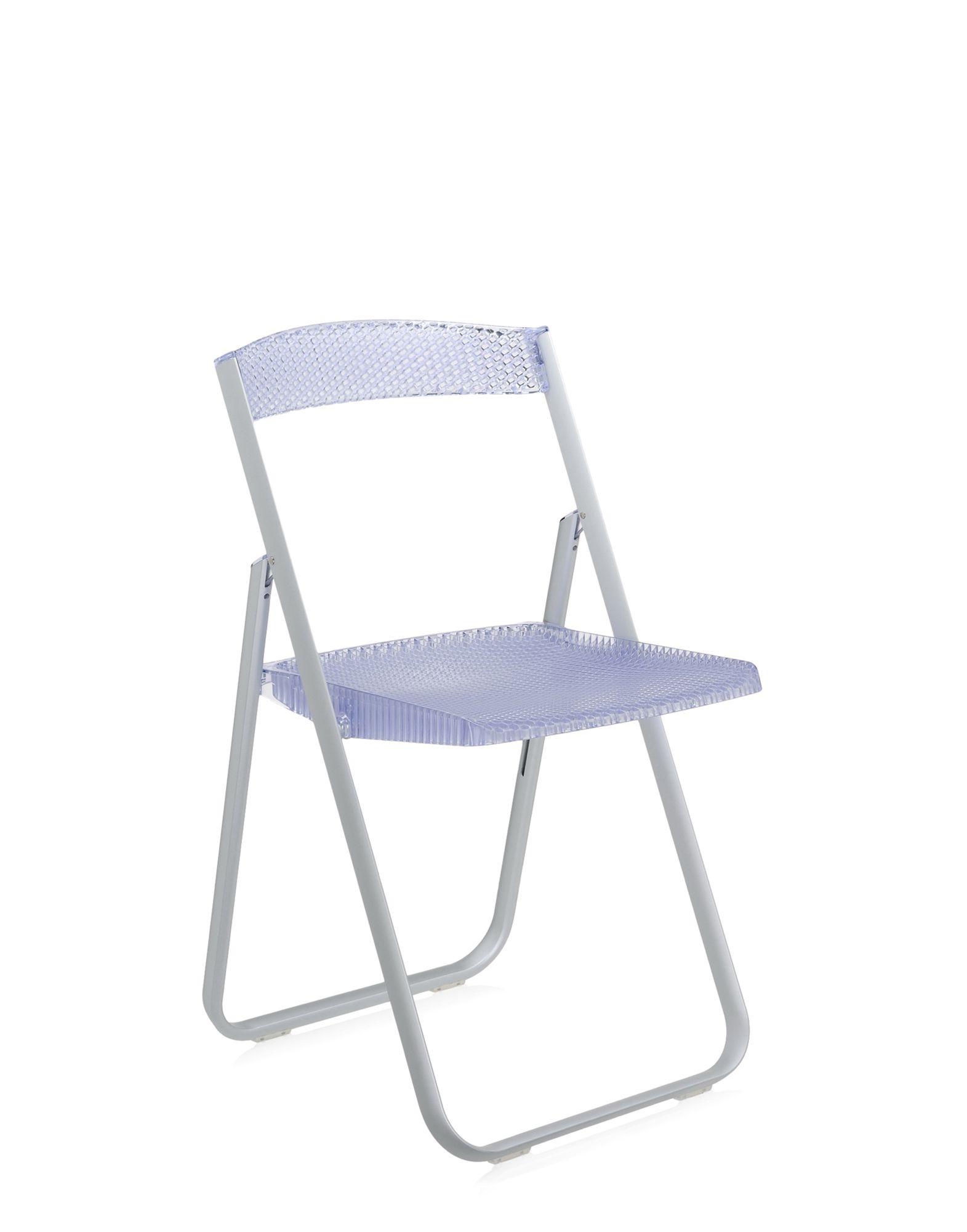 Kartell honeycomb sedia kartell azzurro scontato del 30 - Sedia pieghevole trasparente ...