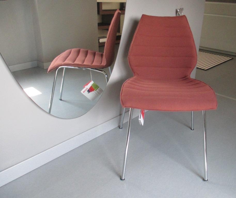 kartell sedia maui soft tessuto design sedie a prezzi