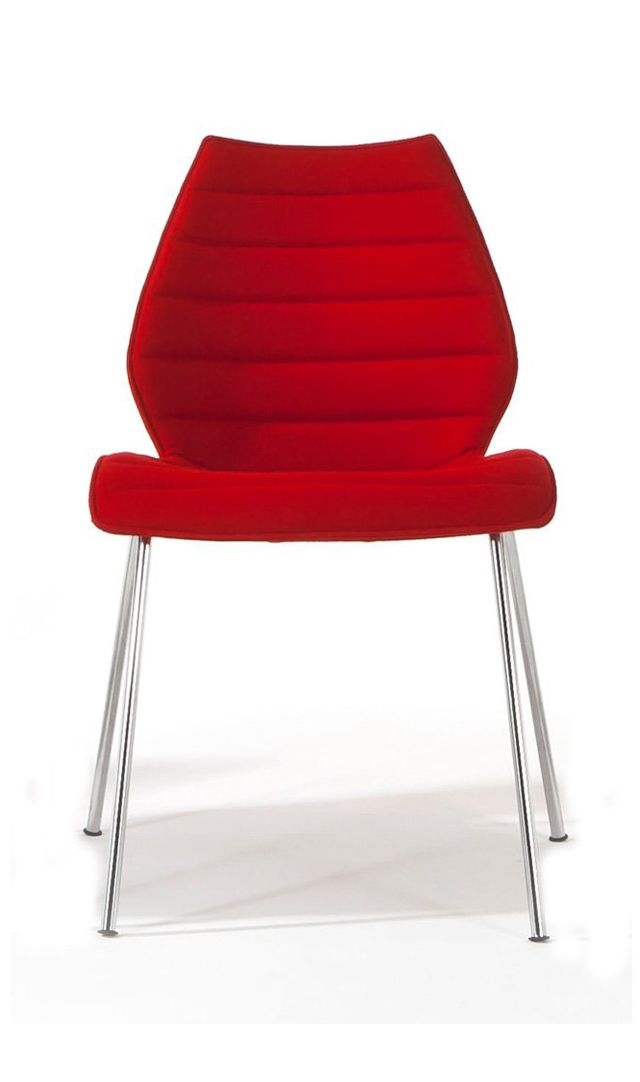 Kartell sedia maui soft tessuto design sedie a prezzi for Outlet sedie roma
