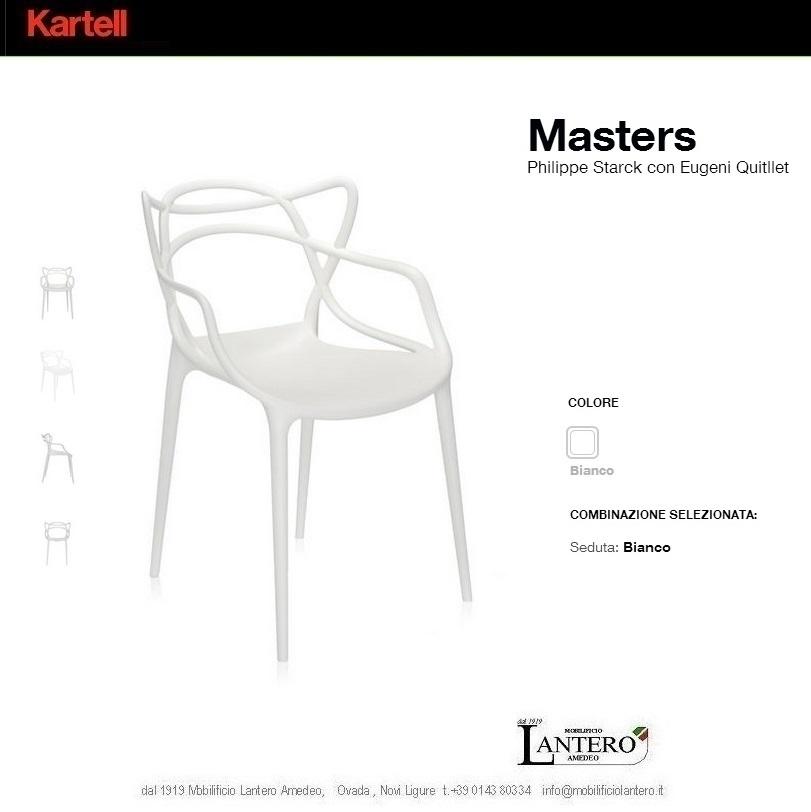 Sedia Masters Kartell Outlet ~ Idées de Design D\'intérieur