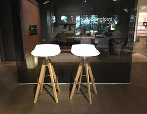 Mdf Set di 4 sgabelli flow stool  scontato del -30 %