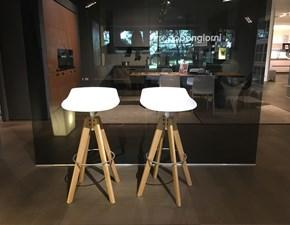 Mdf Set di 4 sgabelli flow stool  scontato del -30 %