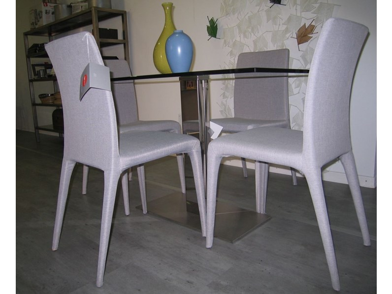 N 4 sedie da soggiorno set di novamobili in offerta outlet for 4 sedie in offerta