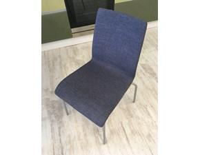 Composizione 4 sedie Jude Jeans di Domitalia scontate