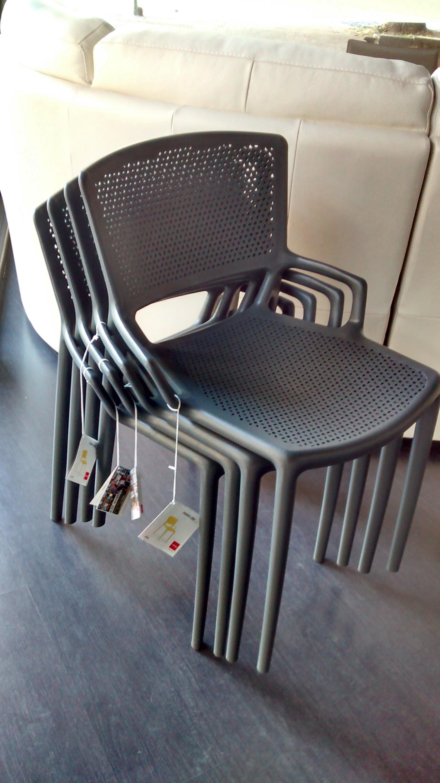 Offerta sedie in polipropilene impilabili 18603 sedie a for Sedie impilabili