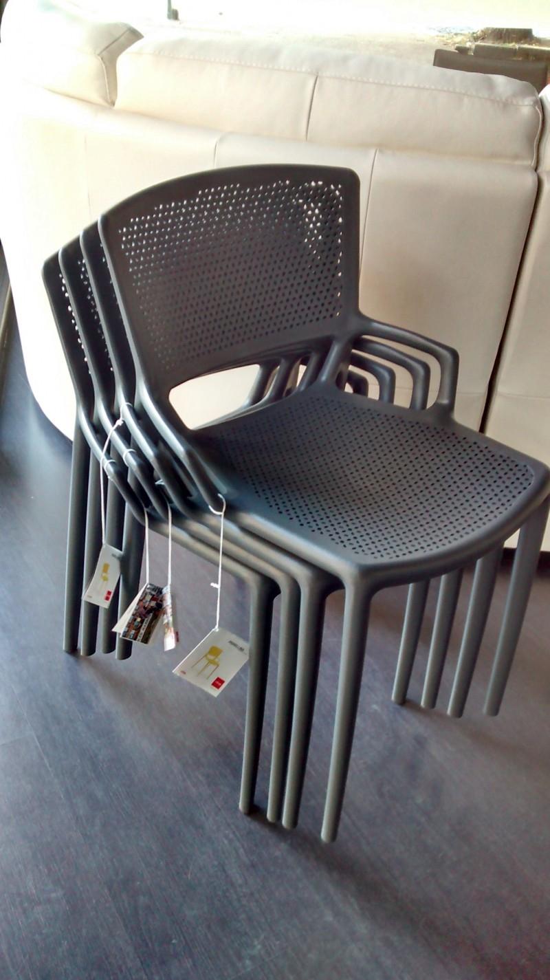 Offerta sedie in polipropilene impilabili 18957 sedie a for Sedie impilabili