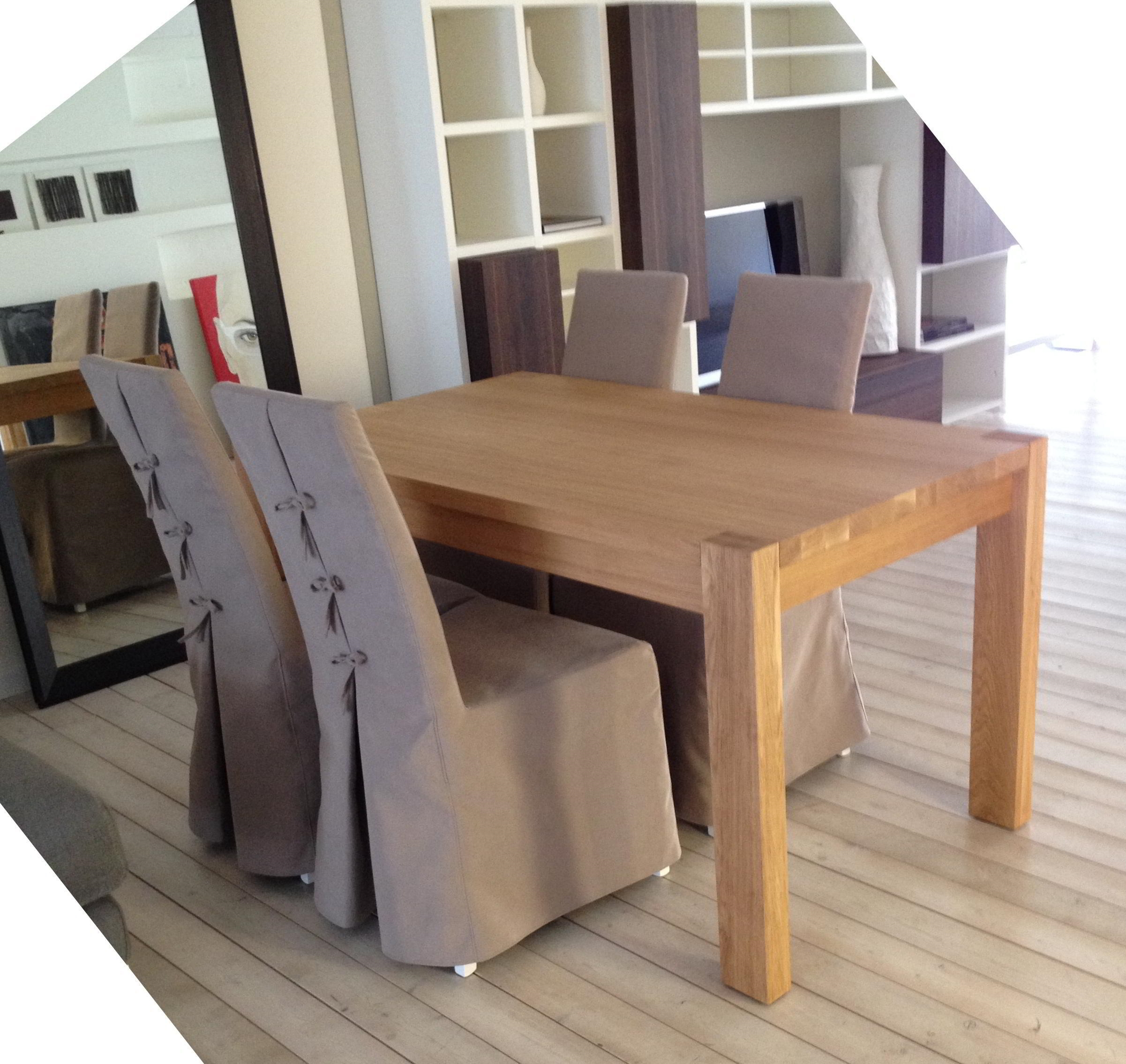Speciale Offerta tavolo in legno e quattro sedie scontati del 50% - Sedie a prezzi scontati