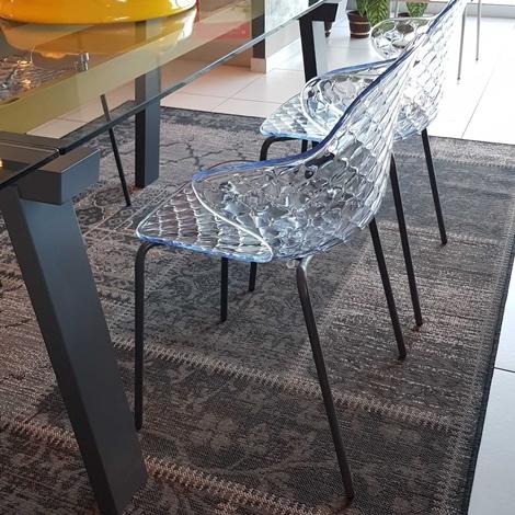 Outlet sedia calligaris saint tropez trasparente sedie a for Outlet sedie calligaris