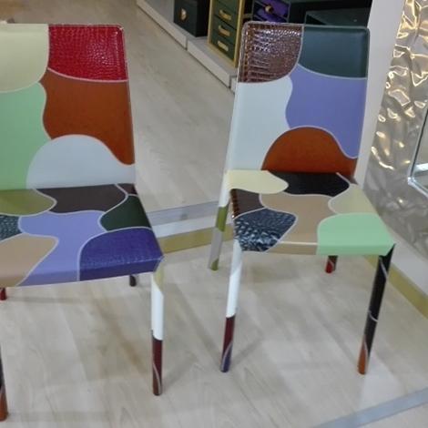 Sedia airnova patchwork fantasia scontata del 35 sedie for Sedia patchwork offerta