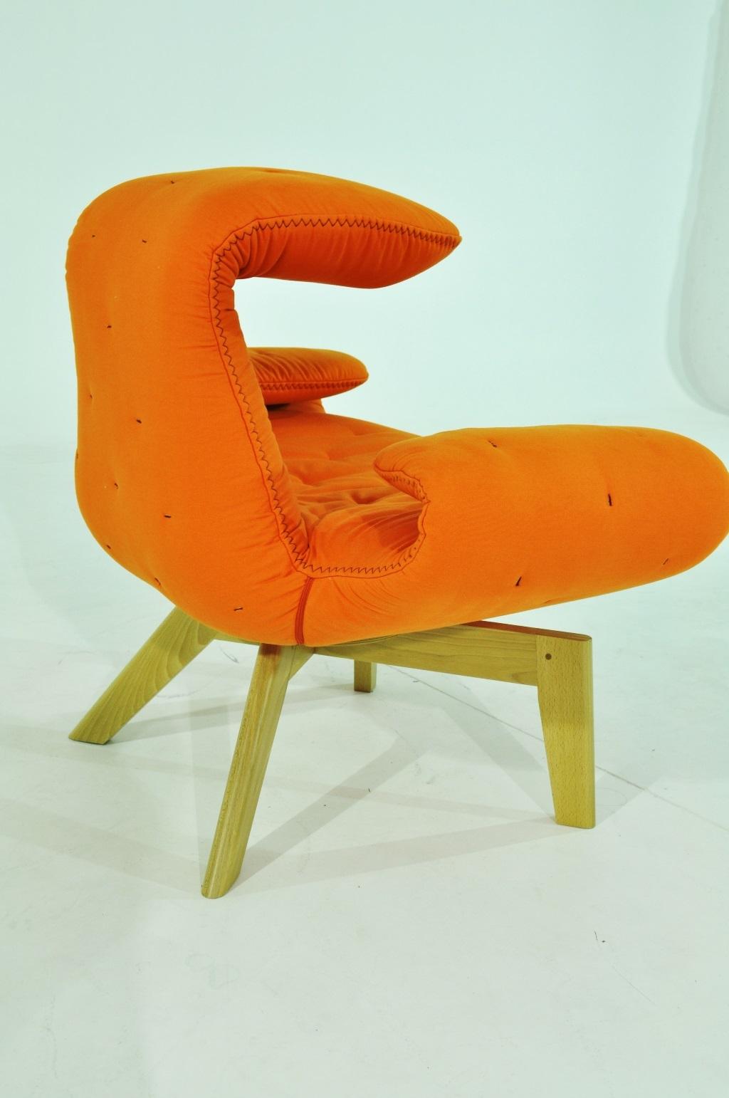 Sedia poltrona design beby pelle sedie a prezzi scontati for Sedie design in pelle