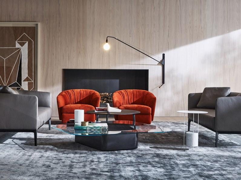 Poltrona molteni c modello holborn in promozione sedie for Arredamenti molteni milano