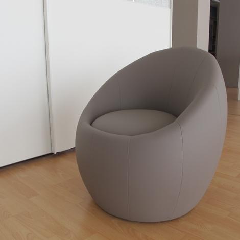 Poltroncina in ecopelle vari colori sedie a prezzi scontati - Poltrone da camera moderne ...