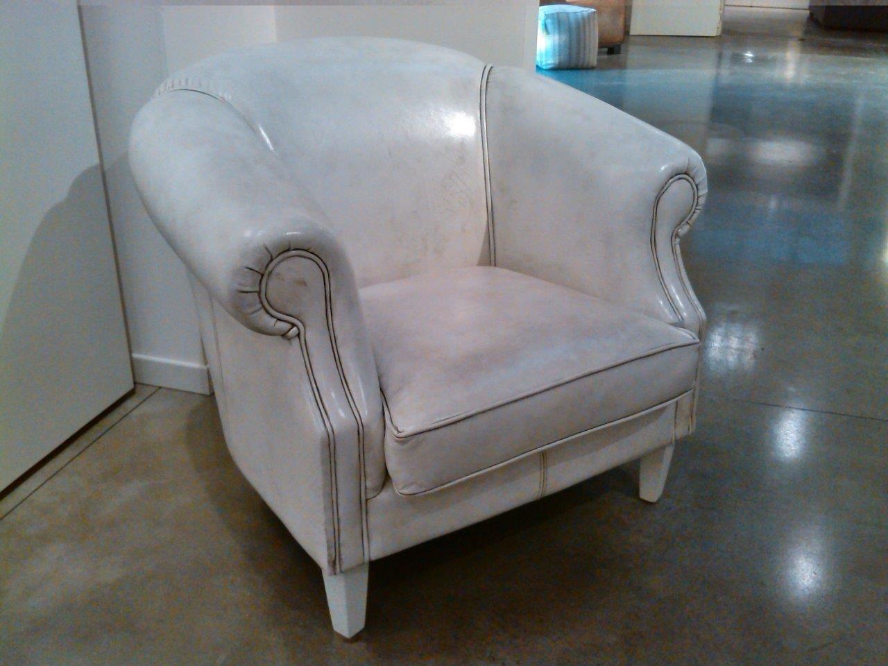 Poltroncina da camera in pelle di bufalo sedie a prezzi - Sedie da camera ...