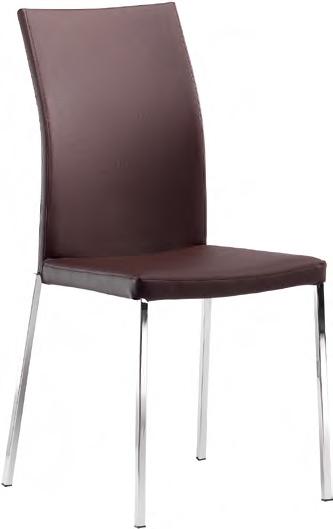 Super offerta sedia con rivestimento in ecopelle sedie a for Rivestimento sedie