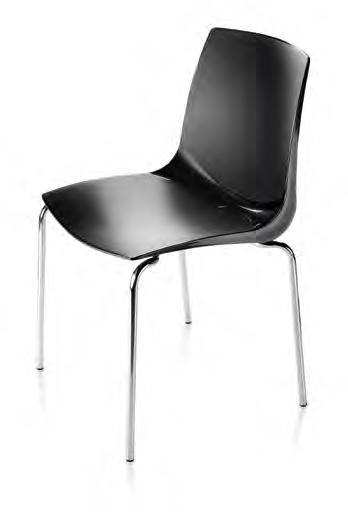 Promozione sedia impilabile con scocca in polipropilene sedie a prezzi scontati - Sedia polipropilene impilabile ...