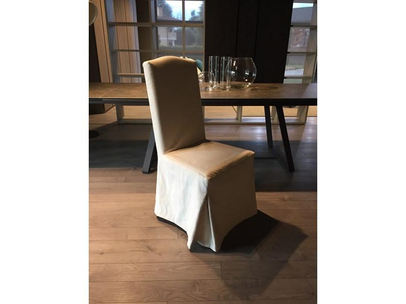 Quattro sedie tessuto longoni scontate del 50 sedie a for Sedie design scontate