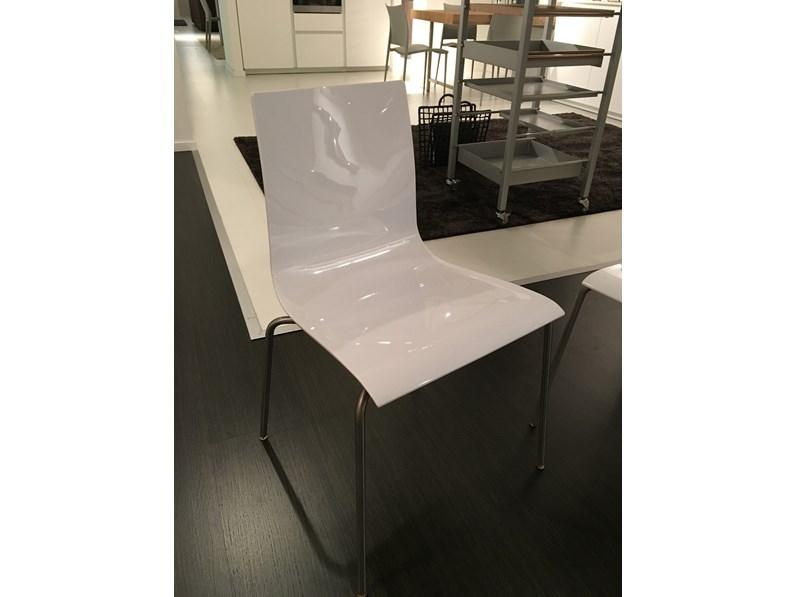 Sedia 4 sedie wok di desalto in offerta outlet for 4 sedie in offerta