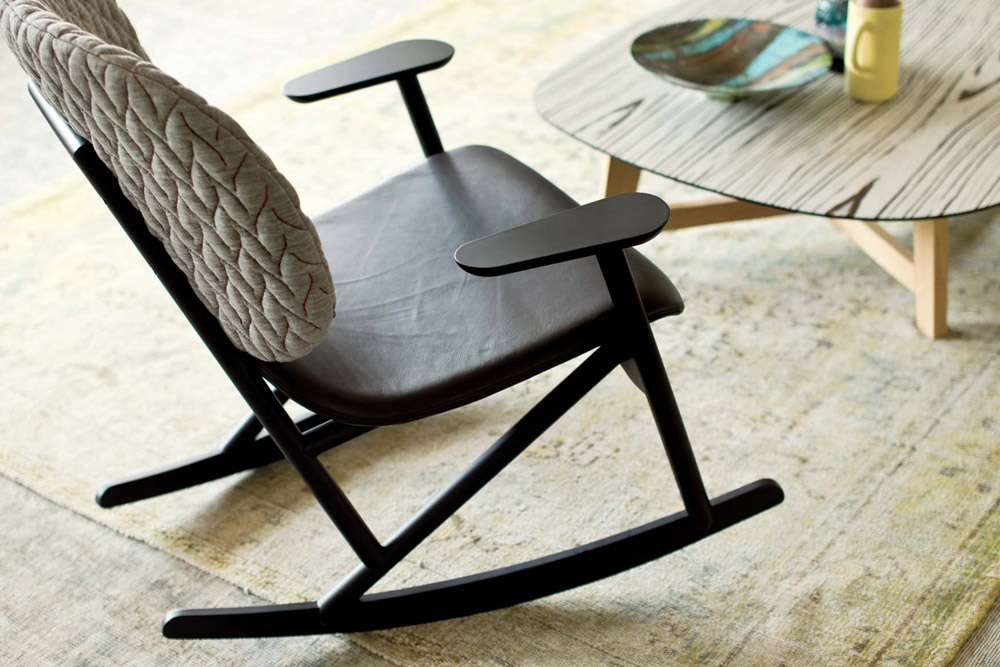 Sedia a dondolo klara moroso sedie a prezzi scontati - Sedia a dondolo design ...