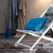 Chaise longue relax in pelle nera sedie a prezzi scontati for Sedia sdraio imbottita prezzi