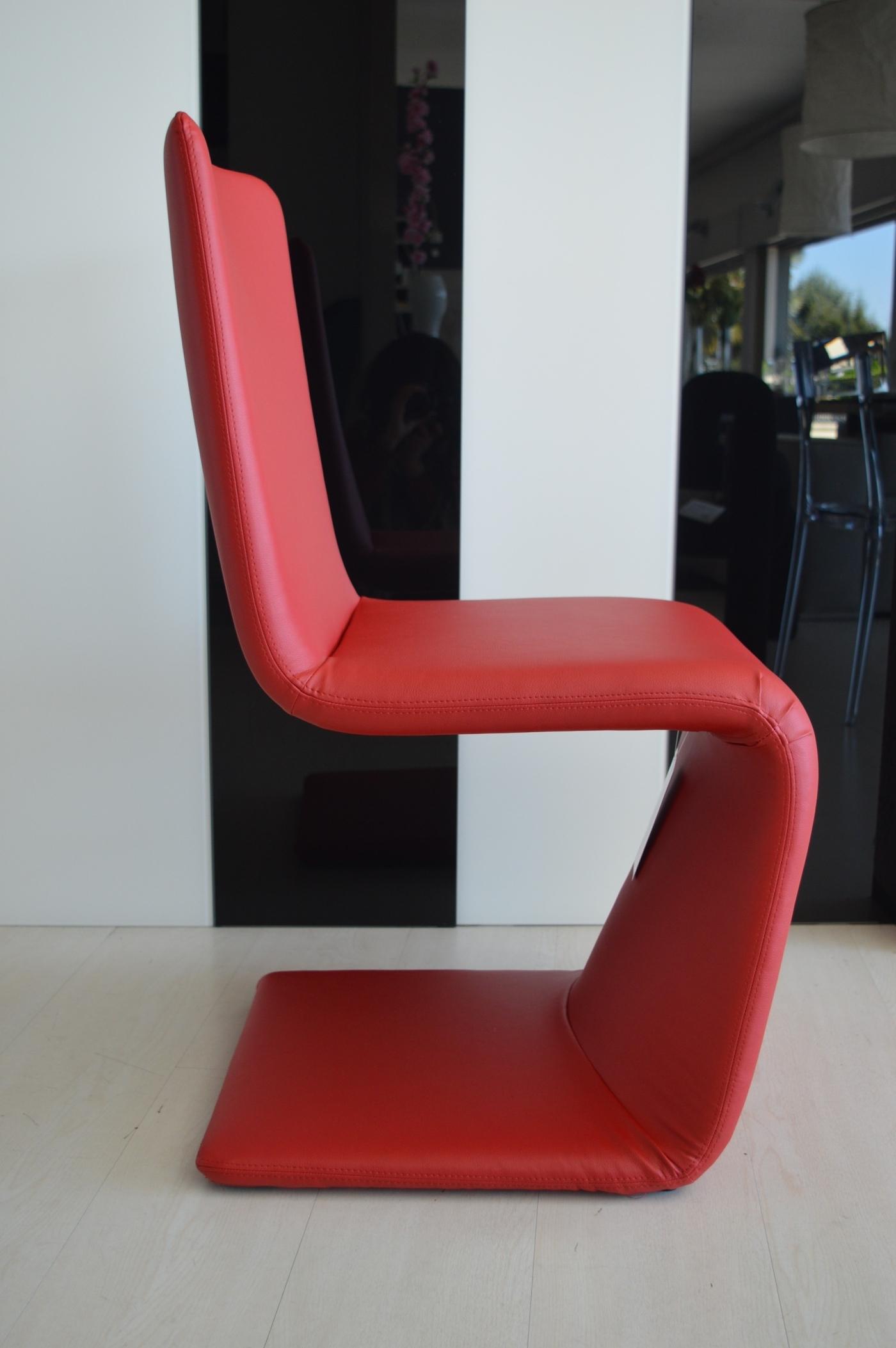 Bonaldo sedia venere scontato del 40 sedie a prezzi for Sedia rossa