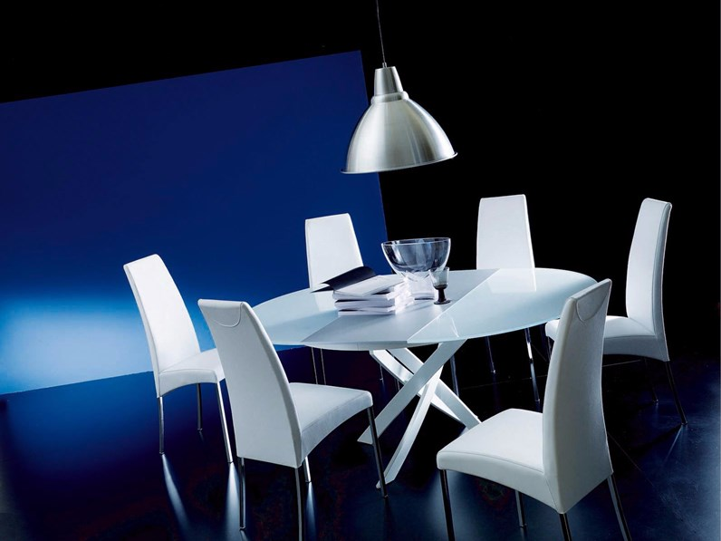 Sedia bontempi casa modello aida prezzi outlet for Arredamenti serafino