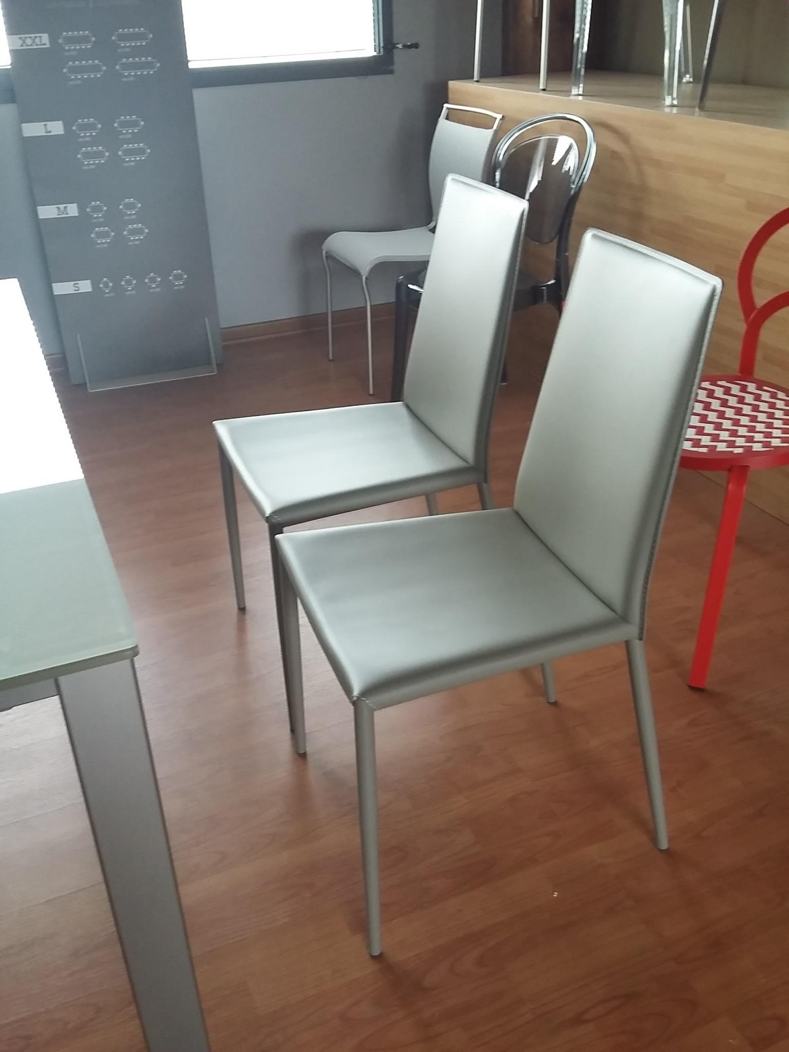 Sedia calligaris boheme cuoio sedie a prezzi scontati for Sedie cuoio prezzi