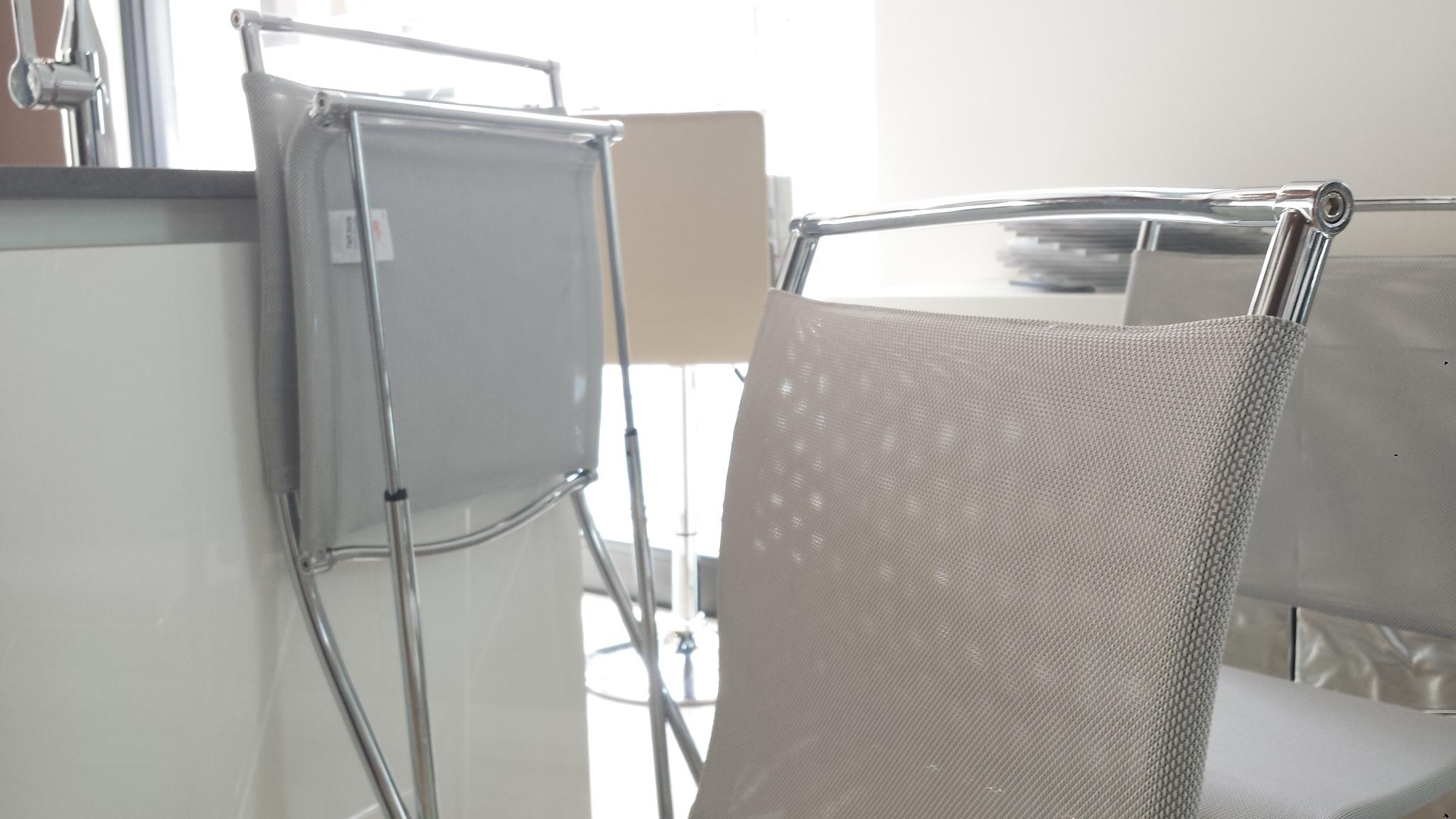 Sedia calligaris mod air folding 20258 sedie a prezzi for Sedie da cucina trasparenti
