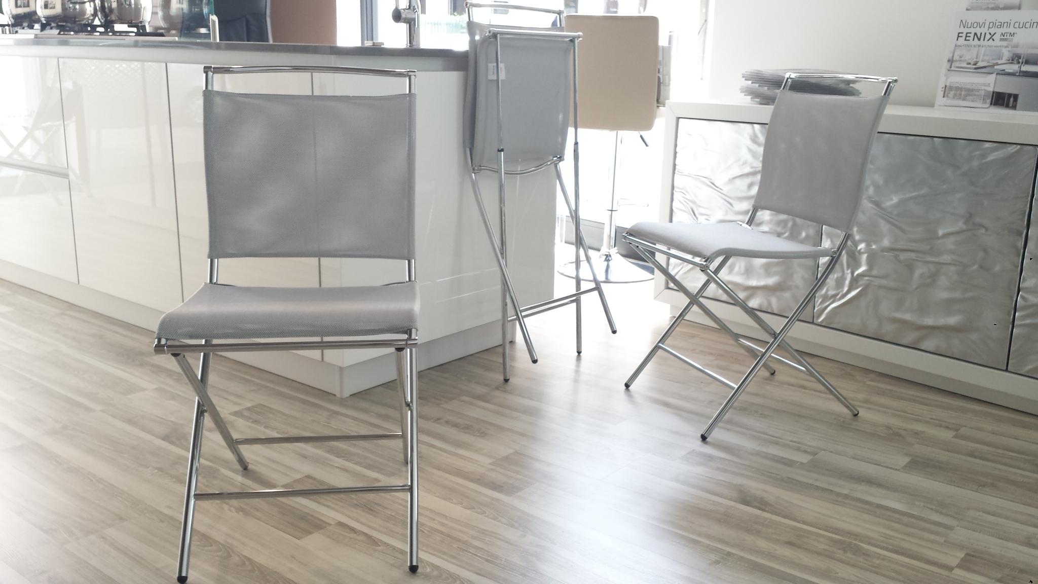 Calligaris sedia air folding pieghevole sedie a prezzi for Cucine calligaris