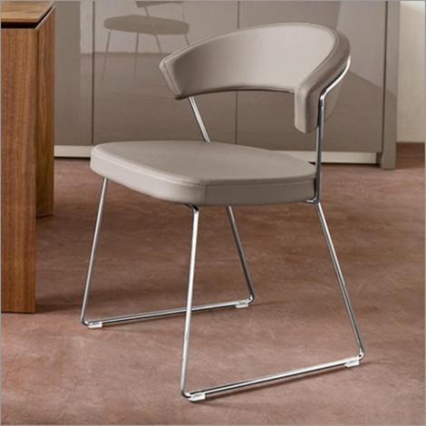Set n 4 sedie calligaris new york pelle offerta sedie a for 4 sedie in offerta