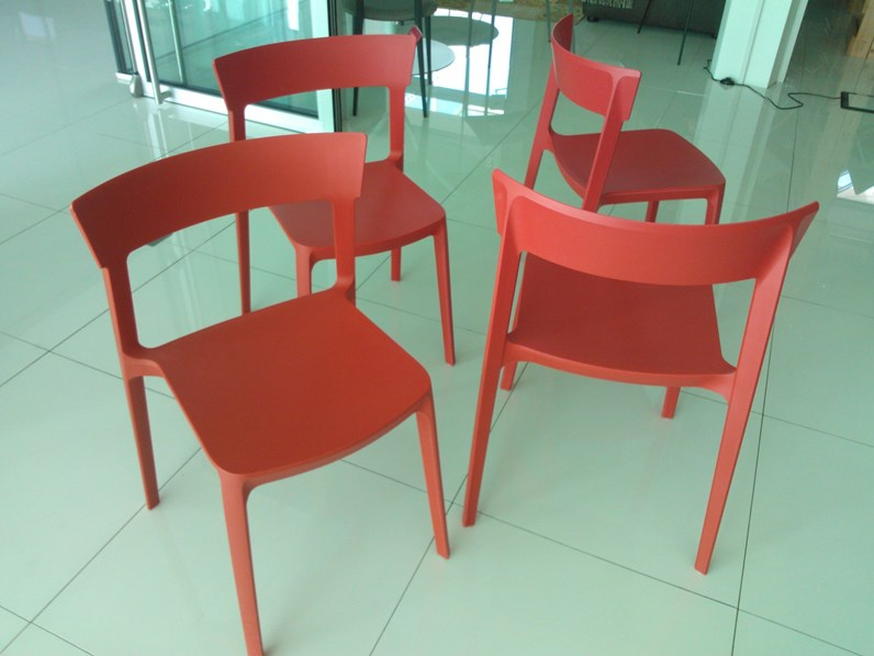 Sedia calligaris skin scontato del 55 for Sedie design outlet