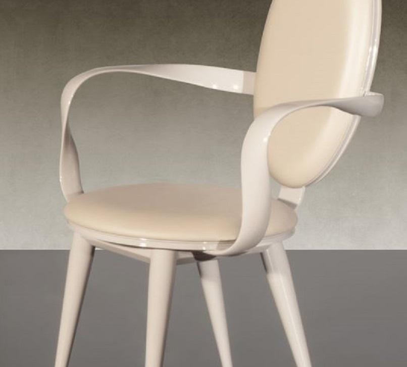 Poltroncina capotavola reflex modello bastide sedie a - Sedie capotavola ...