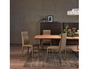 Sedia Agatha Flex di Cattelan ideale in abbinamento a tavoli in legno massello