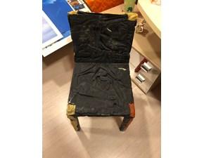 Sedia composta da jeans  Casamania by frezza a prezzo scontato